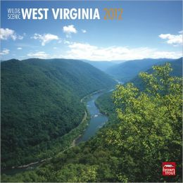 2012 West Virginia, Wild & Scenic Square 12X12 Wall Calendar