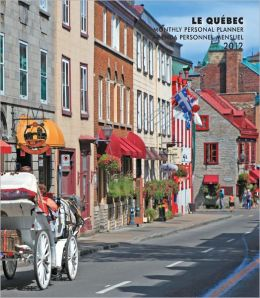 Quebec 2012 Monthly Personal Planner