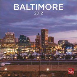 2012 Baltimore Square 12x12 Wall Calendar