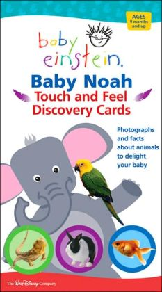 Baby Einstein: Baby Noah Touch and Feel Discovery Cards