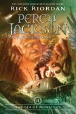 Book Cover Image. Title: The Sea of Monsters (Percy Jackson and the Olympians Series #2), Author: Rick Riordan