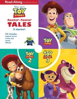 3-in-1 Storybook and CD (Toy Story Series)