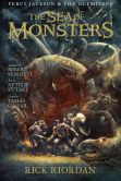 Book Cover Image. Title: Percy Jackson and the Olympians Sea of Monsters, The:  The Graphic Novel, Author: Rick Riordan