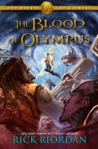 Book Cover Image. Title: The Heroes of Olympus Book Five:  The Blood of Olympus, Author: Rick Riordan