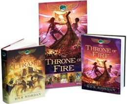 The Red Pyramid/The Throne of Fire Exclusive Bundle with Poster (Kane Chronicles Series #1 & #2)