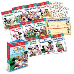 Mickey Mouse Clubhouse Reading Adventures Mickey Mouse Clubhouse Level Pre-1 Boxed Set