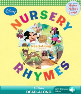 Disney Nursery Rhymes Read-Along Storybook