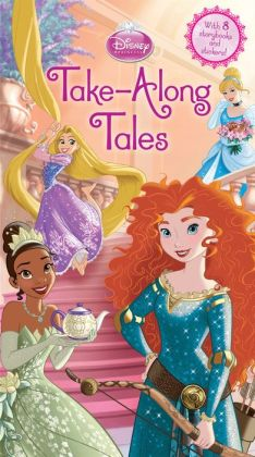 Disney Princess Take-Along Tales: With 8 Storybooks and Stickers!