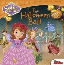 Sofia the First The Halloween Ball: Includes Stickers