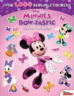Minnie Minnie's Bow-tastic Sticker Collection