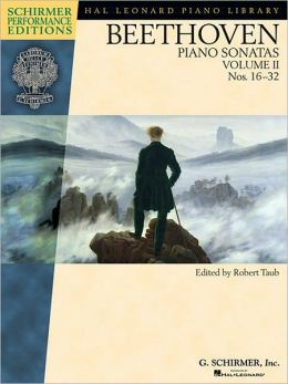 Beethoven - Piano Sonatas, Volume II - Book Only: Nos. 16-32