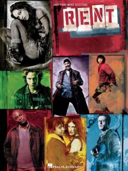 Rent: Easy Piano Movie Selections Jonathan Larson