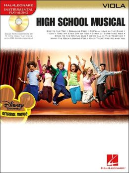 High School Musical - Viola: for Viola Instrumental Play-Along Pack