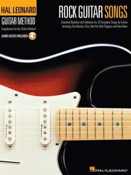 Rock Guitar Songs: Hal Leonard Guitar Method