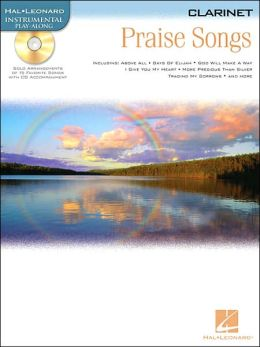 Praise Songs - Instrumental Play-along Pack: Clarinet