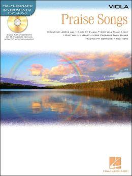 Praise Songs - Instrumental Play-along Pack: Viola