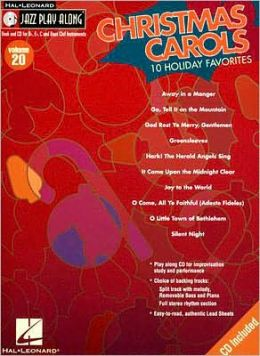 Christmas Carols - 10 Holiday Favorites - Jazz Play-Along, Volume 20