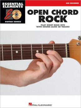 Open Chord Rock: Essential Elements Guitar Songs