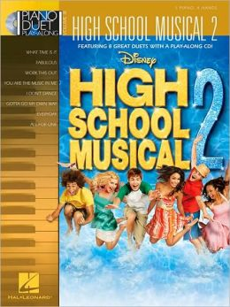High School Musical 2 Piano Duet Play-Along