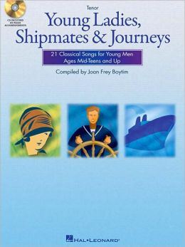 Young Ladies, Shipmates and Journeys: Tenor Book/CD Pack