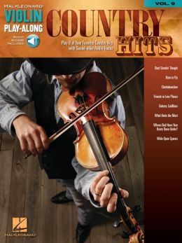 Country Hits - Violin Play-Along, Volume 9
