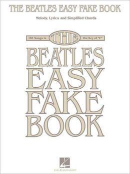 Beatles Easy Fake Book