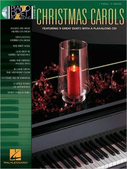 Christmas Carols - Piano Duet Play-Along, Volume 24