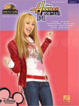 Hannah Montana: Piano Play-Along Volume 66