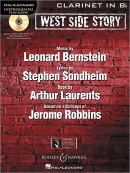 West Side Story for Clarinet: Instrumental Play-Along Book/CD Pack