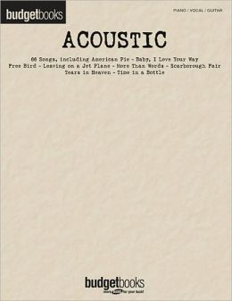 Acoustic - Budget Books