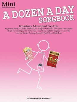 A Dozen a Day Songbook - Mini: Early Elementary Level