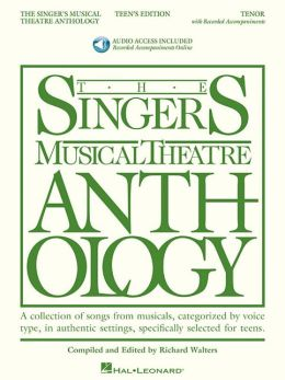 The Singer's Musical Theatre Anthology - Teen's Edition: Tenor Book/2-CDs Pack