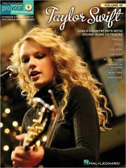 Taylor Swift: Pro Vocal Women's Edition Volume 49