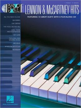 Lennon and McCartney Hits: Piano Duet Play-Along Volume 39