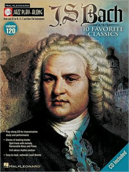 J.S. Bach: Jazz Play-Along Volume 120