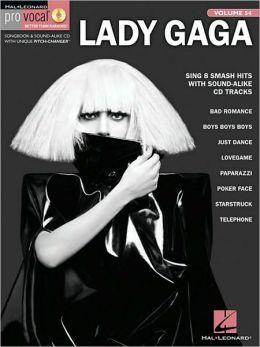 Lady Gaga: Pro Vocal Women's Edition Volume 54
