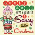 Book Cover Image. Title: Aunty Acid Have Yourself a Sassy Little Christmas, Author: Ged Backland