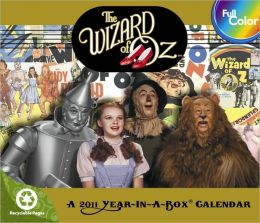 2011 The Wizard of Oz Box Calendar
