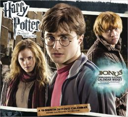 2012 Harry Potter and the Deathly Hallows 2 Wall Calendar