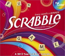 2012 Scrabble Box Calendar