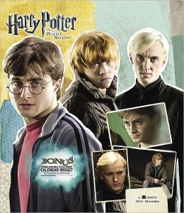 2012 Harry Potter and the Deathly Hallows Wall Calendar