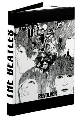 Beatles Revolver Bound Lined Journal 8.5 x 6