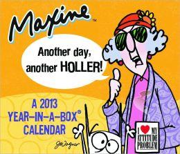 2013 Maxine Box Calendar