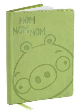 Angry Birds Green Pig Flexi Lined Journal 6 X 8.25
