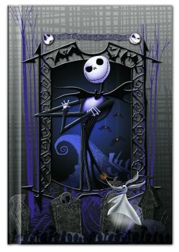 Nightmare Before Christmas Case bound Lined Journal