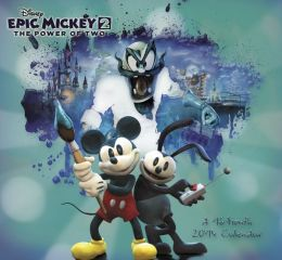 2014 Disney Epic Mickey 2 Mini Calendar