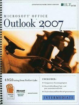 Outlook 2007-Intermediate [With 2 CDROMs]