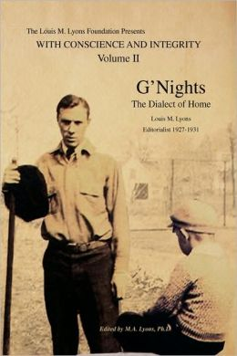 The Lml Collection, Volume Ii: G'Nights:the Dialect of Home