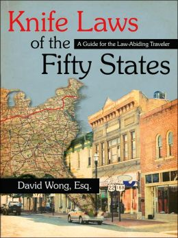 Knife Laws Of The Fifty States