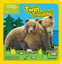 National Geographic Kids Wild Tales: Twin Trouble: A lift-the-flap story about bears